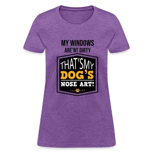 Dog Garden flag - Women's T-Shirt