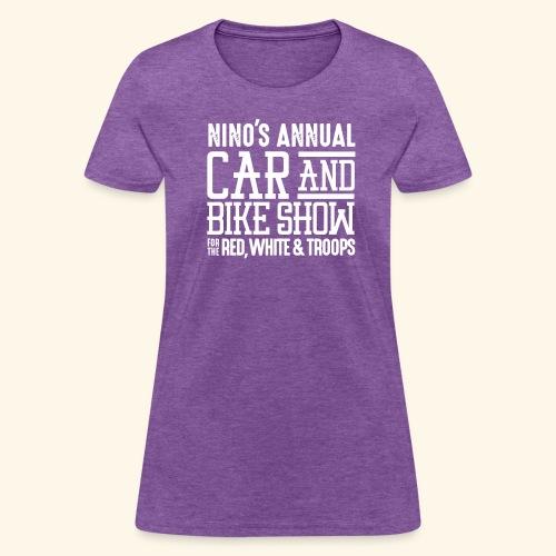 Nino's - Wordmark White - Women's T-Shirt