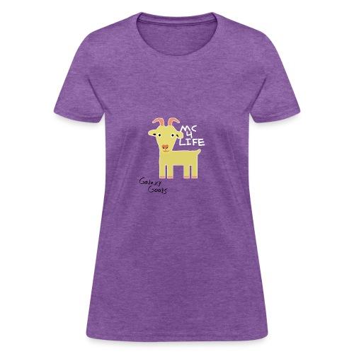 Limited Edition Galaxy Goats Merch - Women's T-Shirt