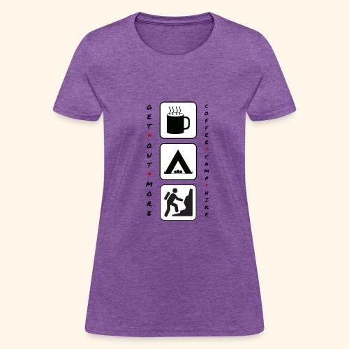 Coffee Camp Hike - Women's T-Shirt