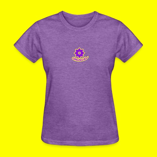 Ususual flower logo - Women's T-Shirt