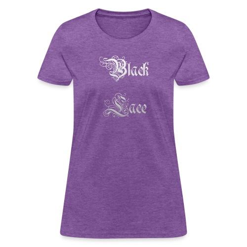 Black Lace Media logo - Women's T-Shirt