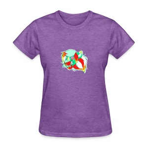 Psychedelic Lion - Women's T-Shirt