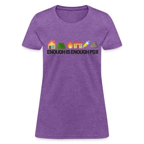 Enough is Enough Campaign Classic Design - Women's T-Shirt