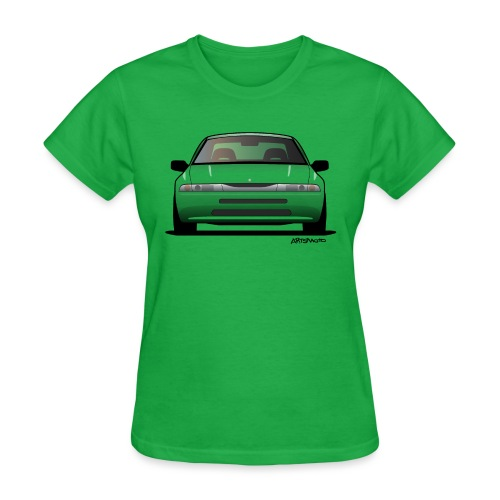 Subaru Alcyone SVX Modern JDM Icon Sticker - Women's T-Shirt