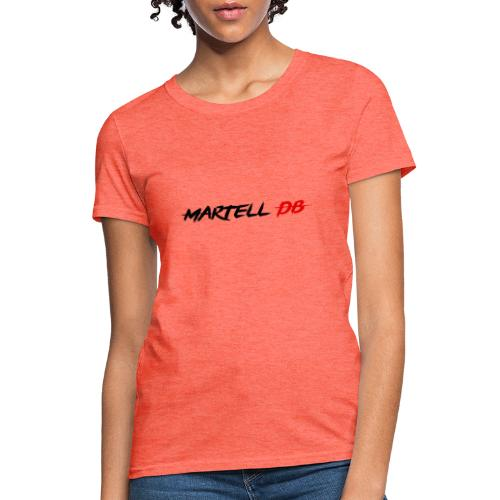 Martell DB Secondary Logo - Women's T-Shirt