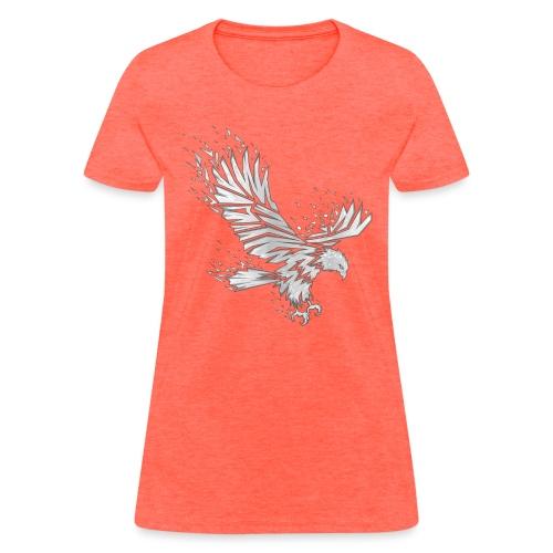 Fractured Raptor Grey - Women's T-Shirt