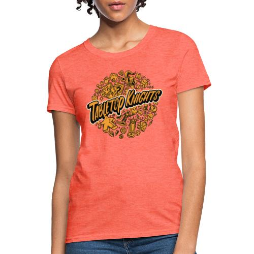 Orange Over The Top TTK - Women's T-Shirt