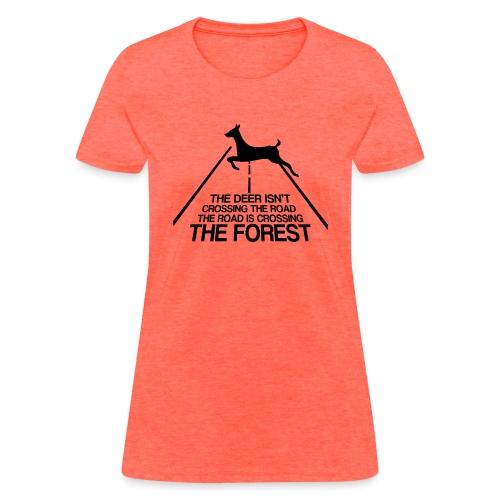 Deer's forest - Women's T-Shirt