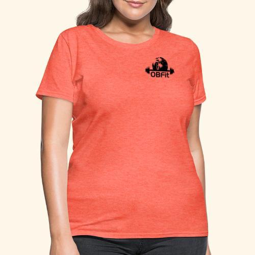 OB Fit Black - Women's T-Shirt