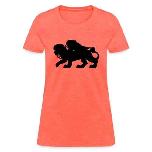 Sphynx Silhouette - Women's T-Shirt