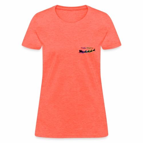 HappyHolyday - Women's T-Shirt