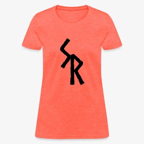 Black SR Logo - Women's T-Shirt