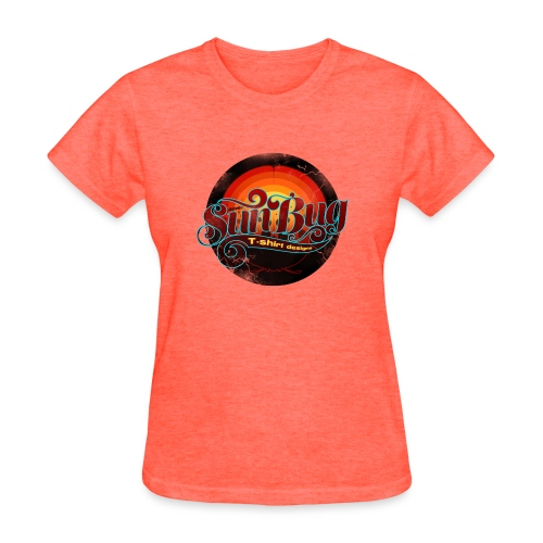 Large SunBug Logo distressed - Women's T-Shirt