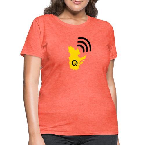 Radio-Québec - T-shirt pour femmes