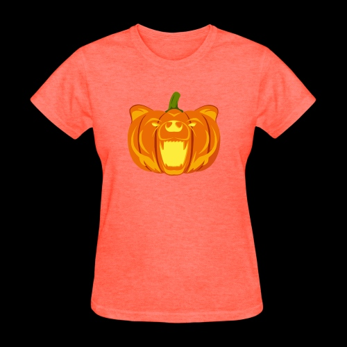 Pumpkin Bear - Women's T-Shirt