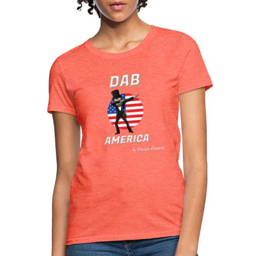 DAB AMERICA WHITE - Women's T-Shirt