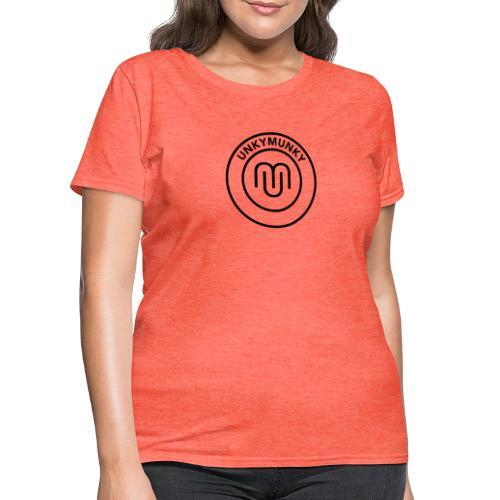 UnkyMunky Logo black - Women's T-Shirt