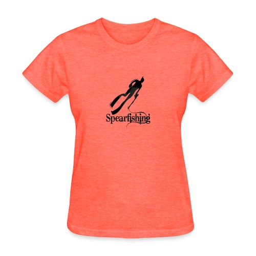 Spearfishing Design - Women's T-Shirt