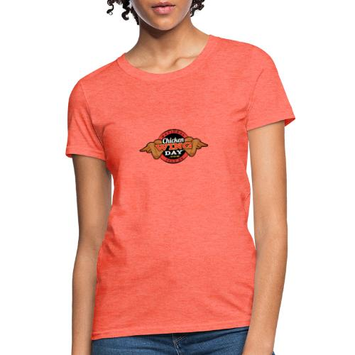 Chicken Wing Day - Women's T-Shirt