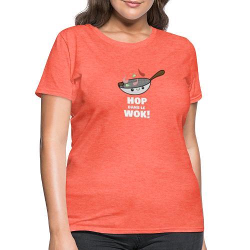 Logo Hop dans le Wok - T-shirt pour femmes