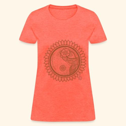 Sunflower Yin yang - Women's T-Shirt