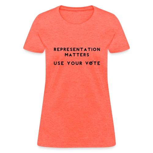 representation matters - Women's T-Shirt