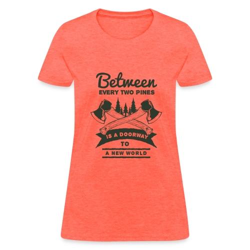A New World Outdoor Activity Forest T-Shirt - Women's T-Shirt