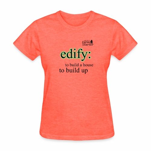 edify Micro Farm Starter - Women's T-Shirt