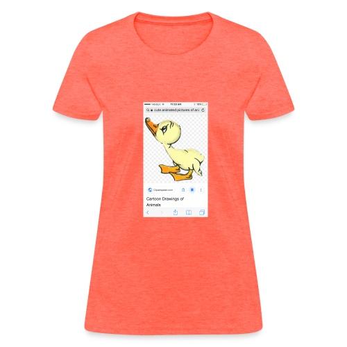 Destiny The Duck - Women's T-Shirt