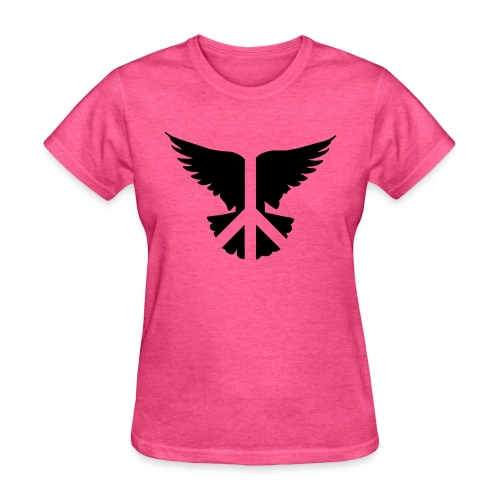 Peacebird black - Women's T-Shirt
