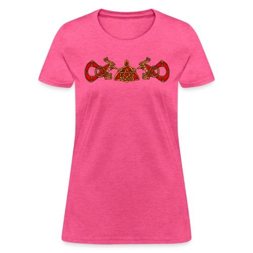 Wiccan Triqueta - Women's T-Shirt