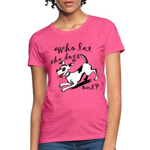 Happy Dog - Women's T-Shirt