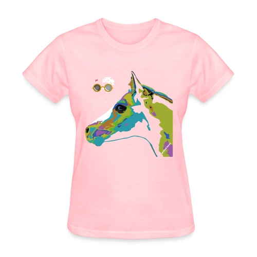 Spotted.Horse Appaloosa Colt Pop Art - Women's T-Shirt