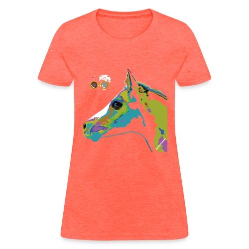 Spotted.Horse Appaloosa Colt Pop Art - Women's T-Shirt