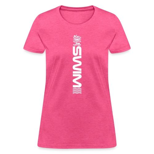 Swim Waves free back fly - Women's T-Shirt