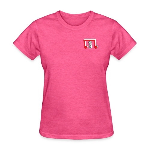 Red White TP M - Women's T-Shirt