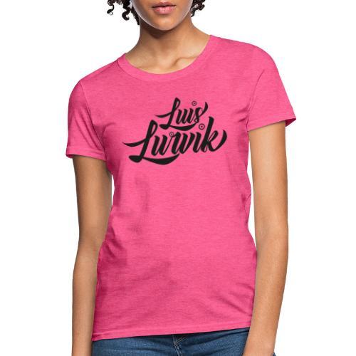 Luis Lurvik logo negro - Women's T-Shirt
