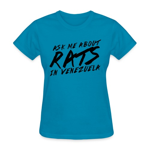 ask me about rats - Women's T-Shirt