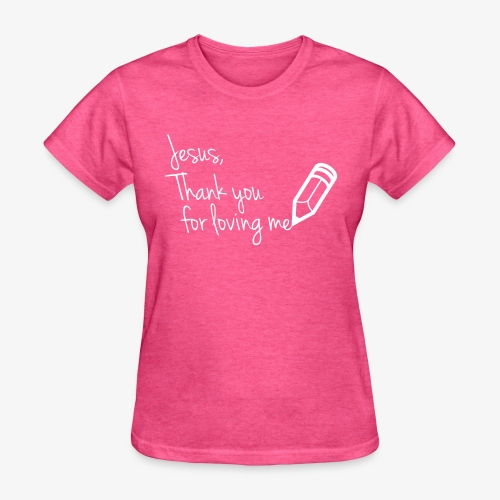 thank you Jesus - Women's T-Shirt