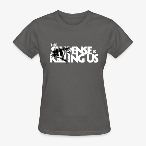 Suspense Is Killing Us Black Eye Logo - Women's T-Shirt