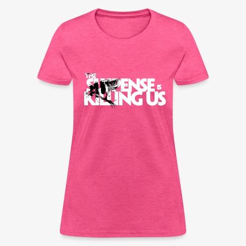 Suspense Is Killing Us Black Eye Logo - Women's T-Shirt
