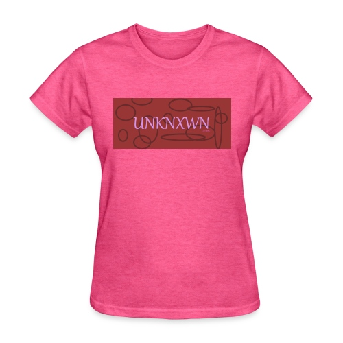 RED PINK UNKNXWN - Women's T-Shirt