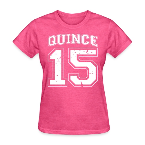 Quince 15 distressed - Women's T-Shirt