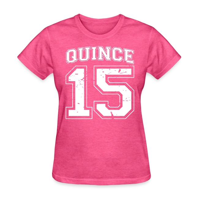 Quince 15 distressed
