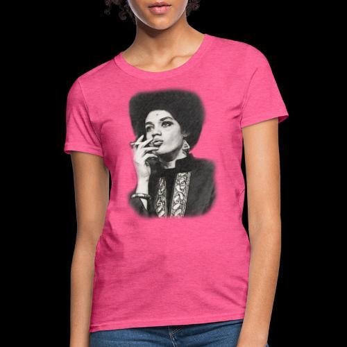 Lady Panther Smoking - Women's T-Shirt