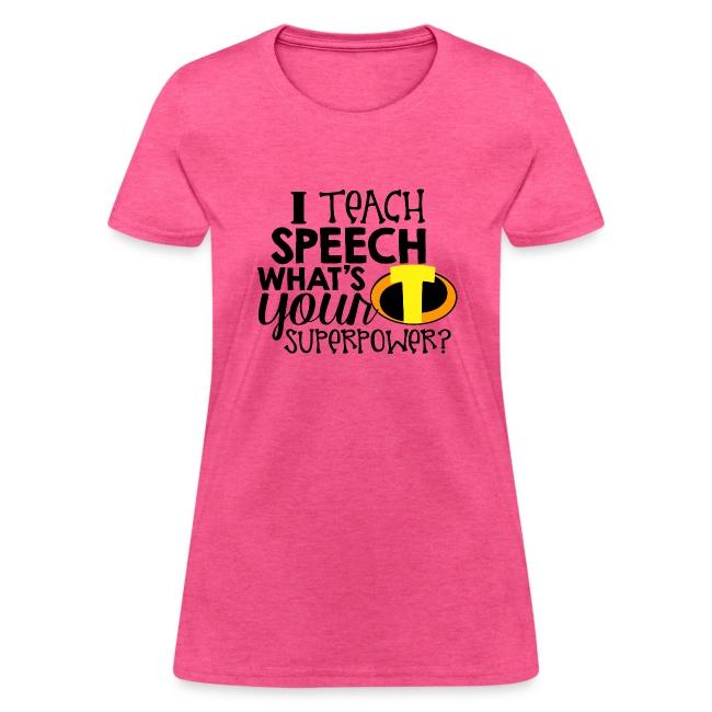I Teach Speech What's Your Superpower