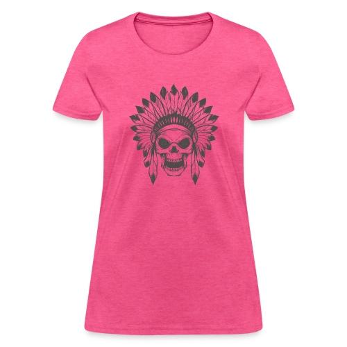 Indian skull - Women's T-Shirt