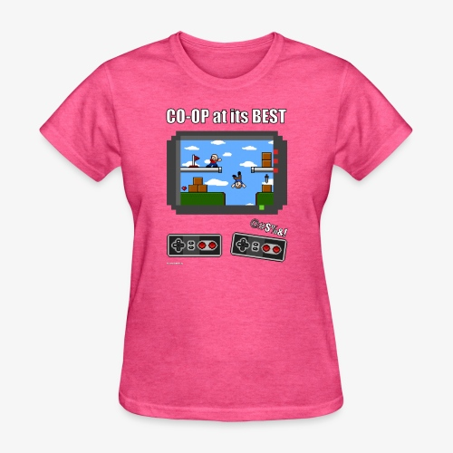 Pixel Art: CO-OP at its BEST - Women's T-Shirt