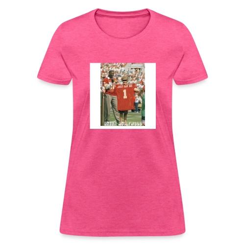 NANCY JUST SAY NO - Women's T-Shirt